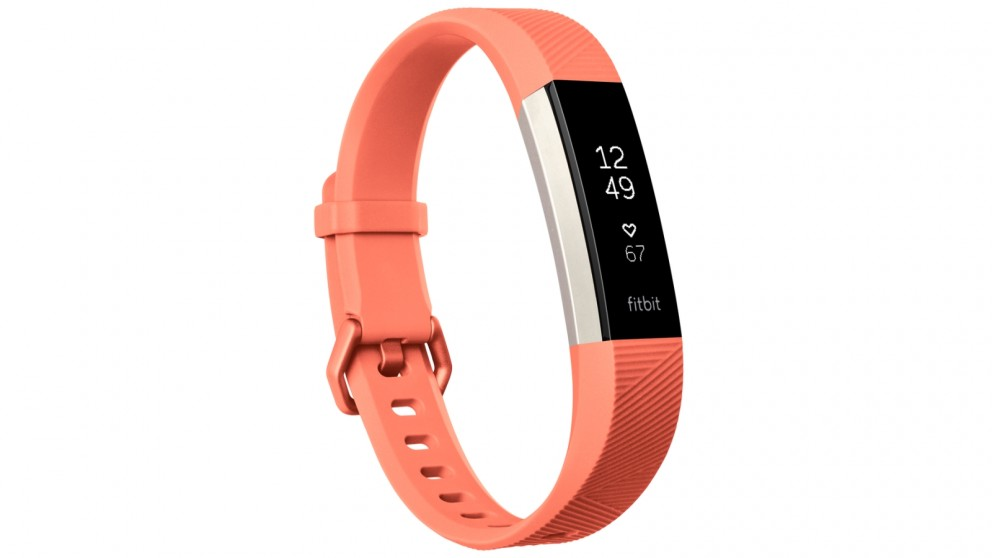 Fitbit Alta HR Large Fitness Tracker - Coral