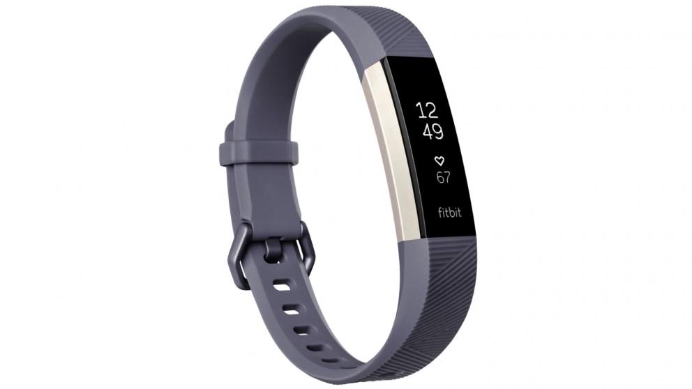 Fitbit Alta HR Large Fitness Tracker - Blue Grey