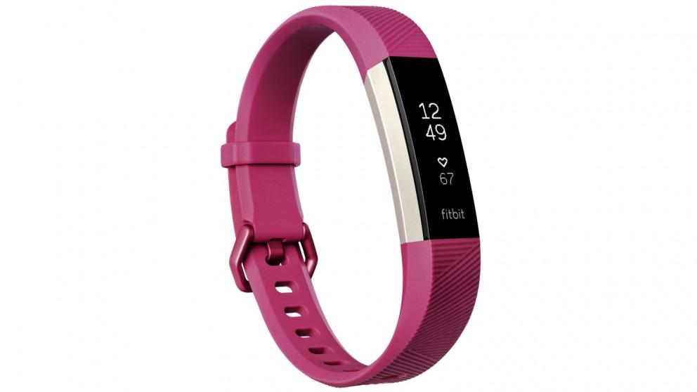 Fitbit Alta HR Small Fitness Tracker - Fuchsia