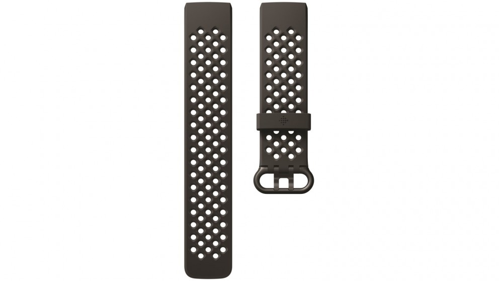 Fitbit Charge 3 Large Sport Band - Black