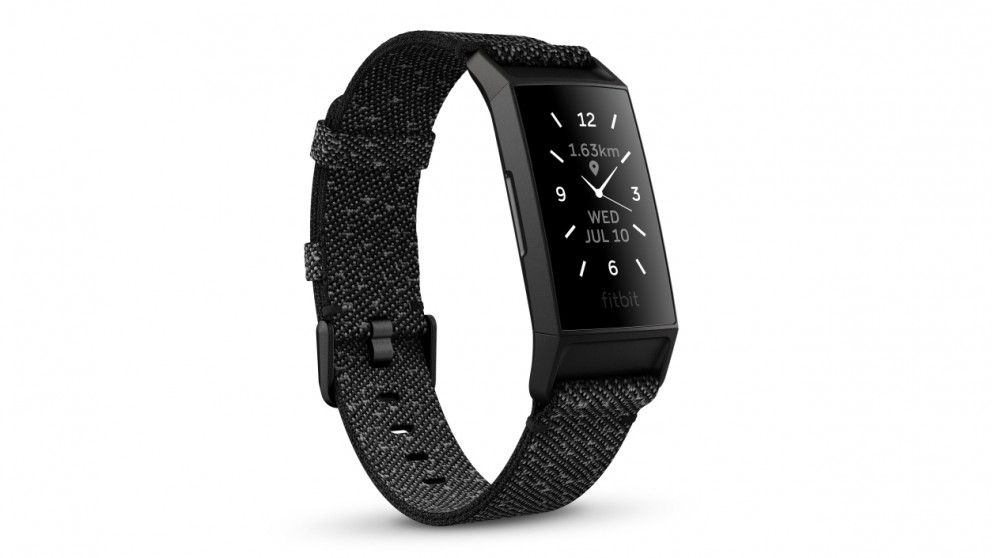 Fitbit Charge 4 Fitness Tracker Special Edition - Granite