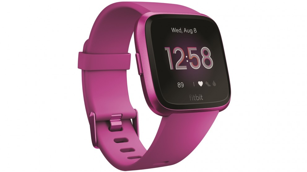 Buy Fitbit Versa Lite Edition Fitness Tracker Mulberry