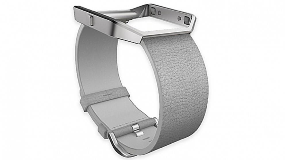 Fitbit Blaze Small Leather Band - Mist Grey