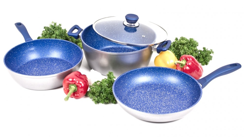 FlavorStone 28cm Essential Non-Stick Cookware Set