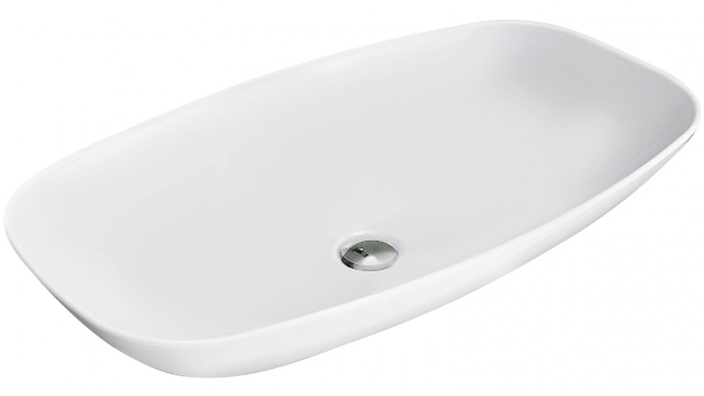 Parisi Nudaslim 75 Wall Basin - Matte White