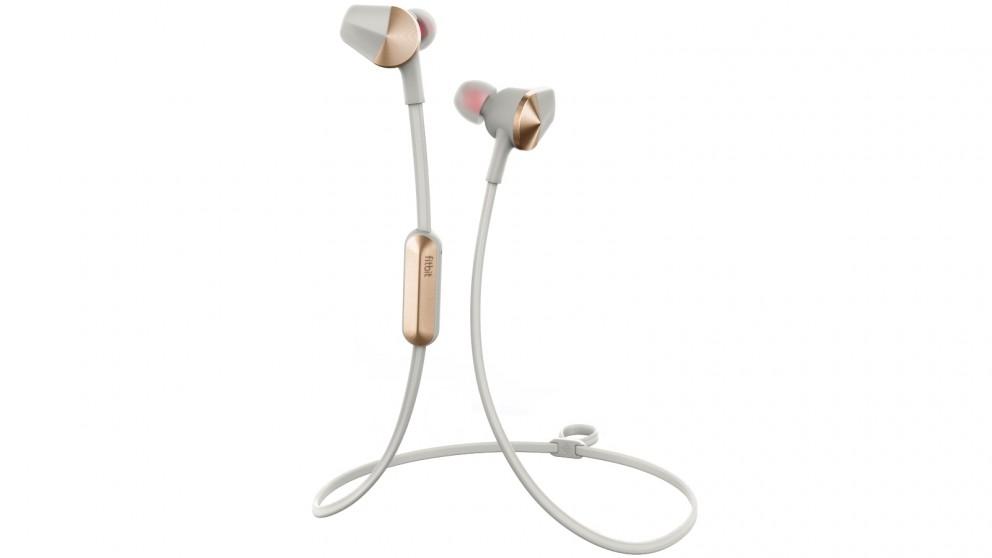 Fitbit Flyer Wireless Fitness Headphones - Lunar Grey