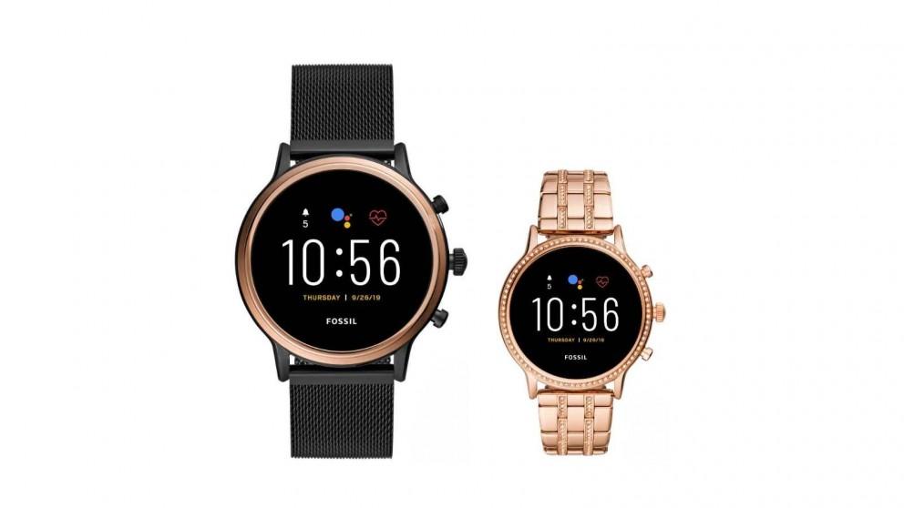 Fossil Julianna HR Stainless Steel Smartwatch