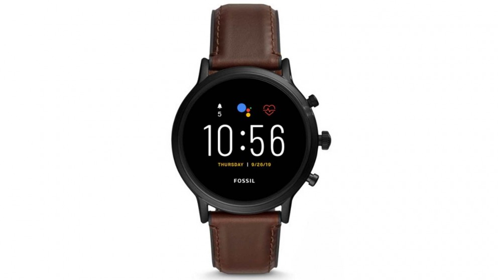 Fossil The Carlyle HR Smart Watch Leather - Brown