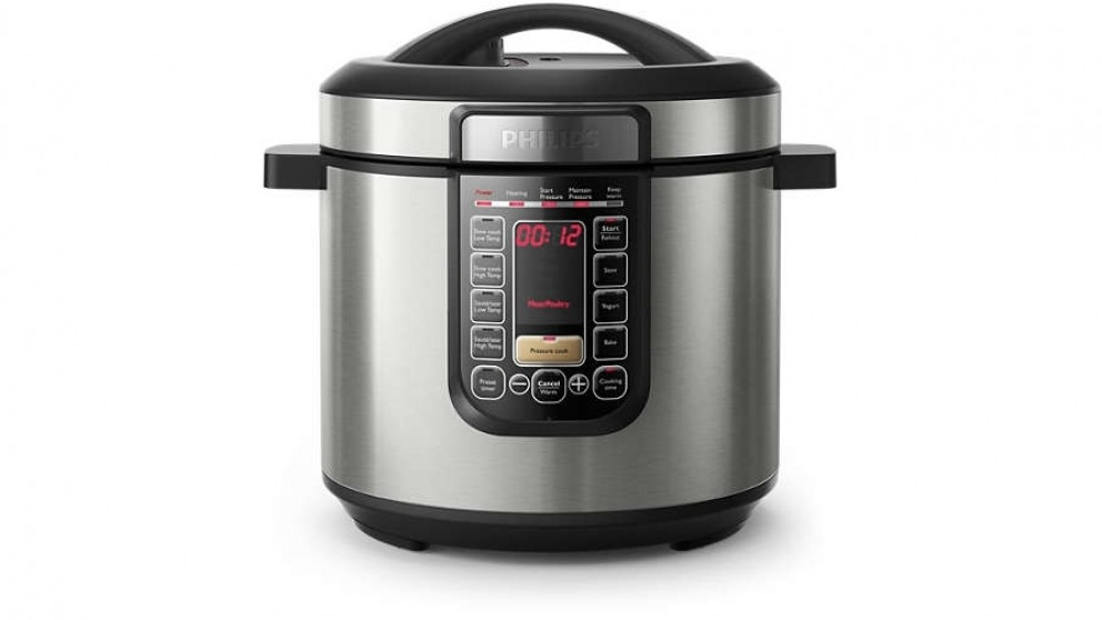 Philips Viva All-In-One Cooker 6L - Silver