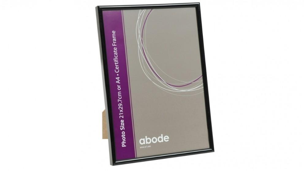 UR1 Abode A4 Black Certificate Frame