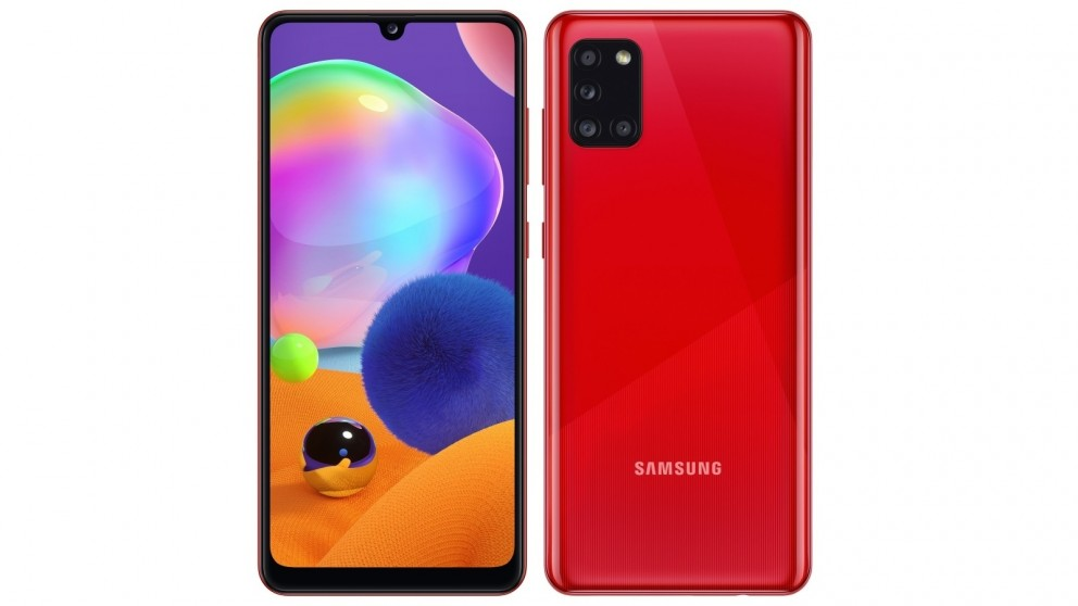 Samsung Galaxy A31 128GB - Red