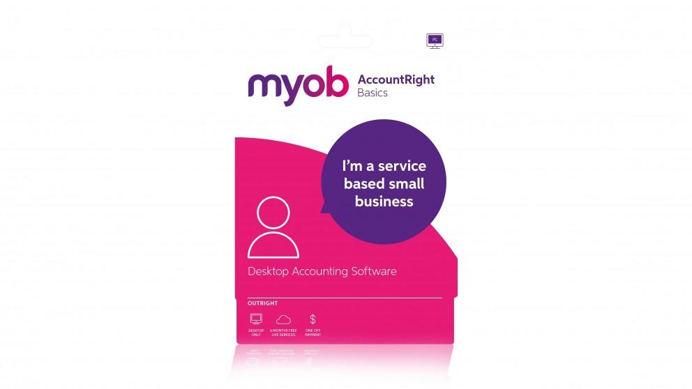 MYOB Account Right Basics Software for Retail