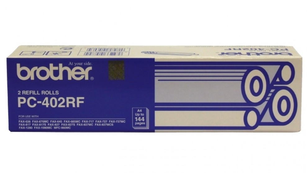 Brother PC-402RF Fax Cartridge Refill Rolls