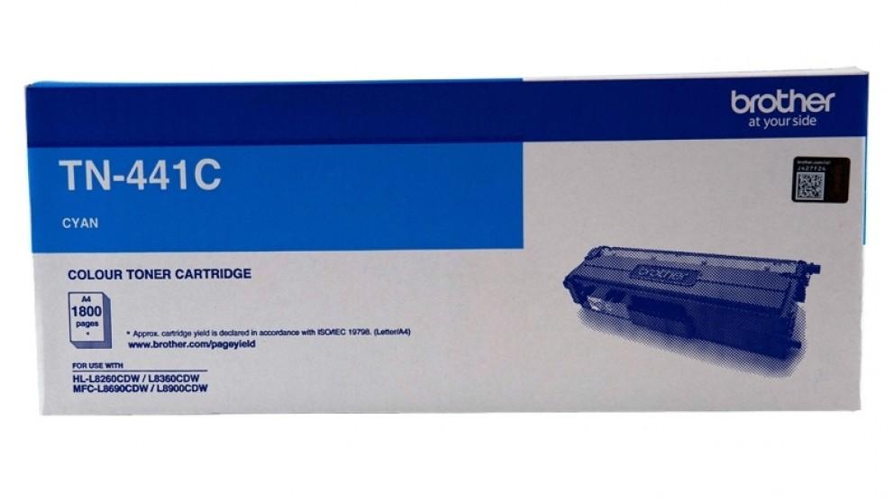 Brother TN-441 Standard Yield Toner Cartridge - Cyan