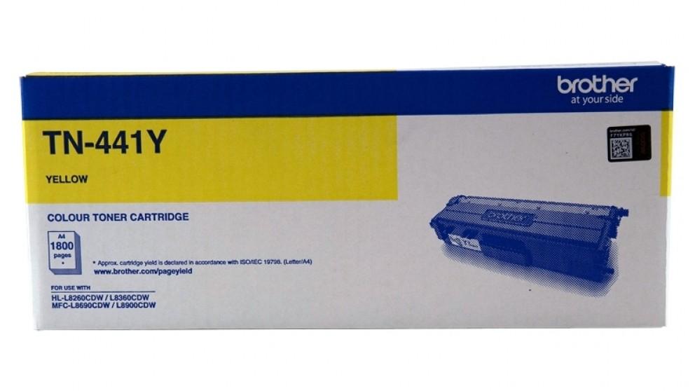 Brother TN-441 Standard Yield Toner Cartridge - Yellow