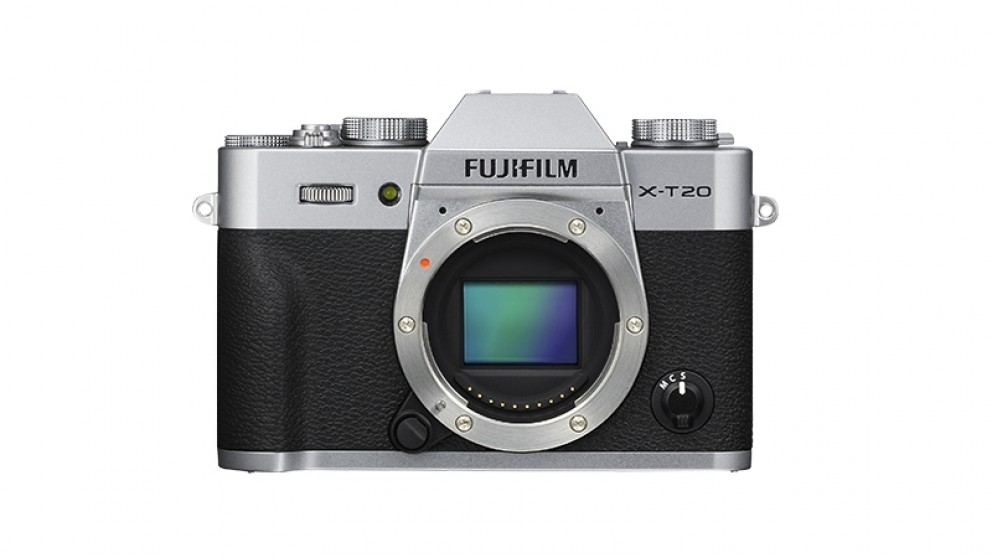 Fujifilm X-T20 Mirrorless Camera Body Only - Silver