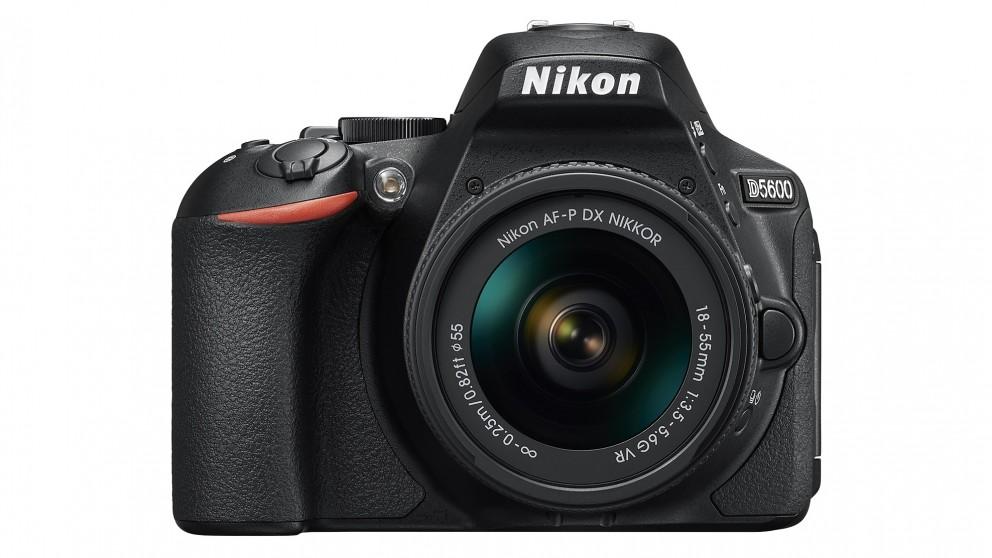 Nikon D5600 DSLR Camera with 18-55mm Lens Kit