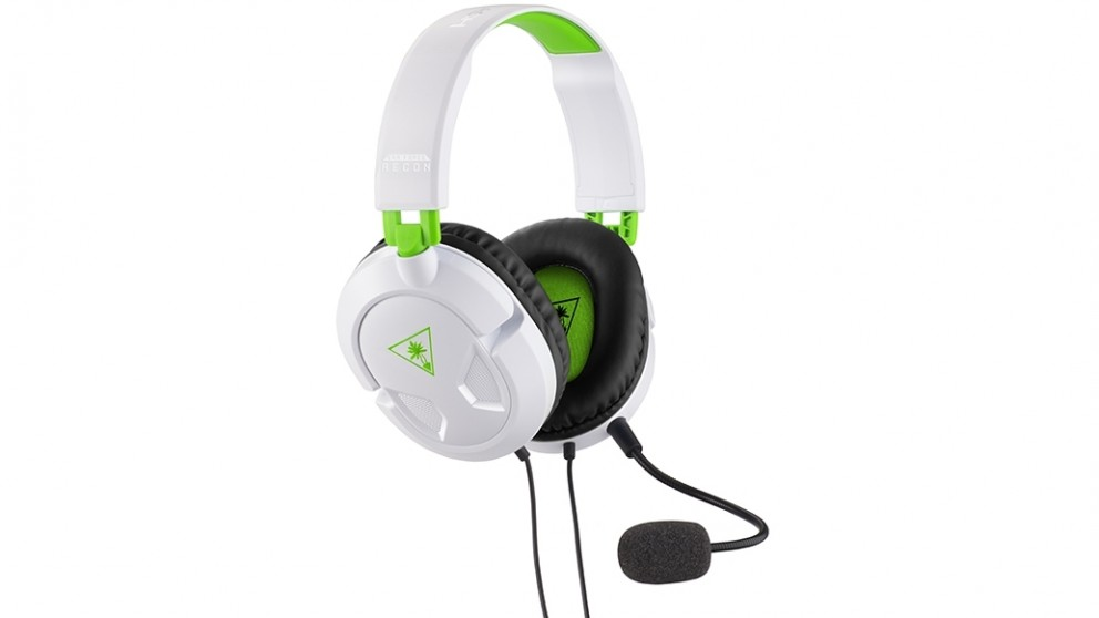 Turtle Beach Recon 50X Gaming Headset for Xbox One - White