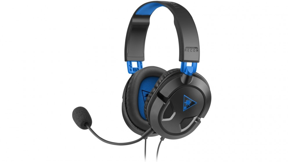 Turtle Beach Recon 50P Gaming Headset for PS4 - Black
