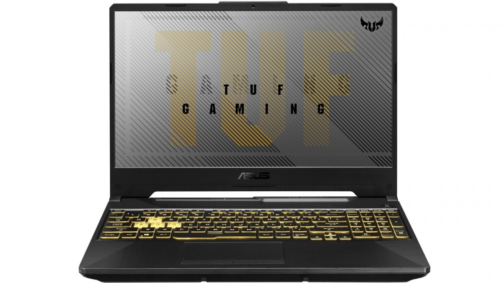 Asus TUF 15.6-inch R7-4800H/16GB/512GB/GTX1650TI 4GB Gaming Laptop