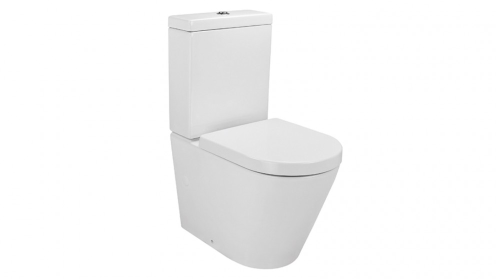 Verotti Felino Zero Rimless Design Back to Wall Toilet Suite - White