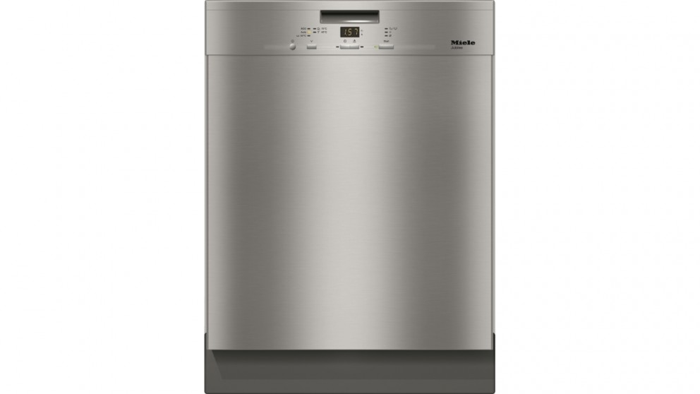 Miele G 4930U 60cm Built-under Dishwasher - Clean Steel