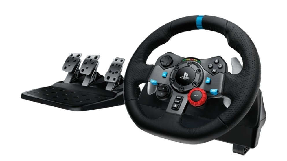 Logitech G29 Driving Force Racing Wheel For PS3 And PS4