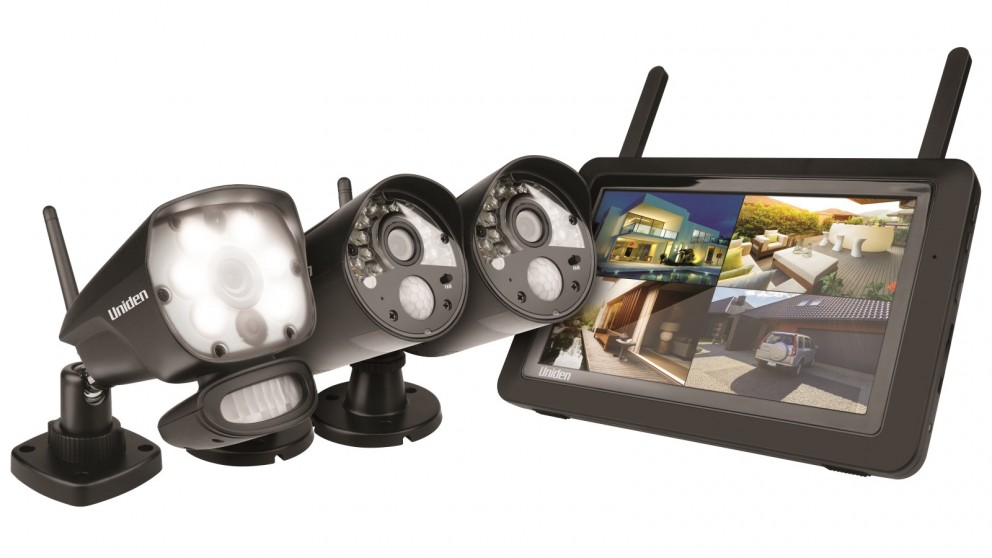 Uniden Guardian G3721L Full HD Wireless Surveillance System with 3 Cameras