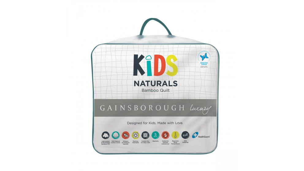 Gainsborough Kids Bamboo Single Quilt