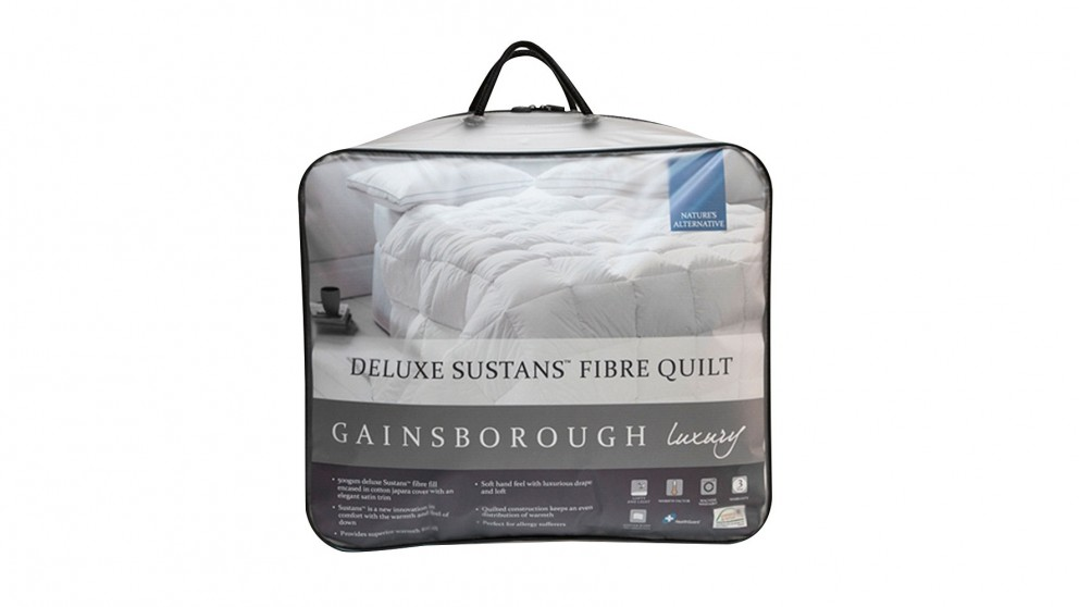 Gainsborough Luxury Deluxe Sustans King Quilt
