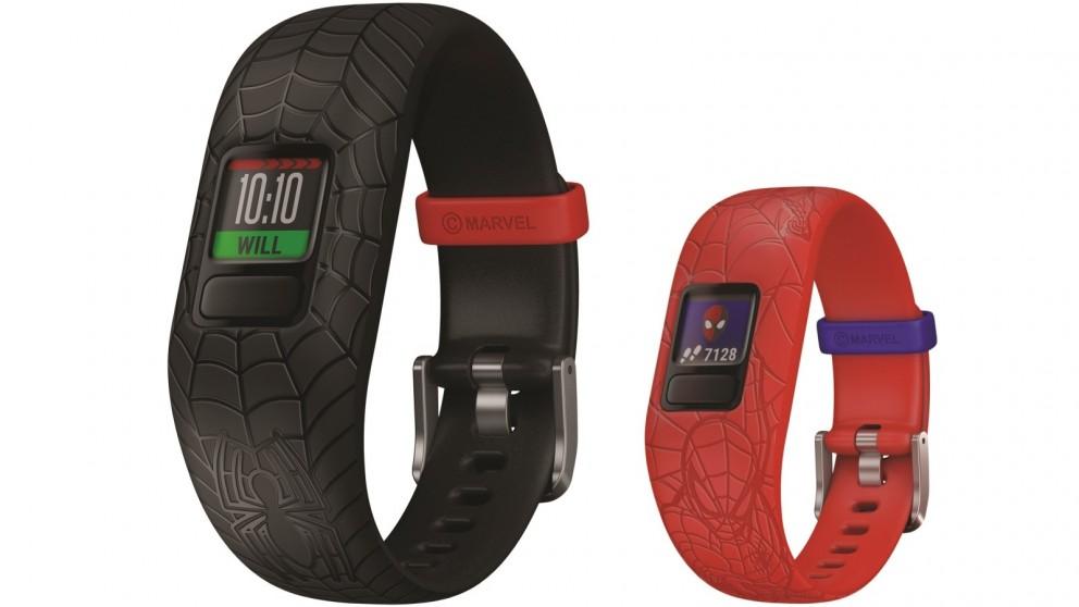 60355124 Buy Garmin Marvel Spider-Man Vivofit Jr 2 Adjustable Activity Tracker |  Harvey Norman AU