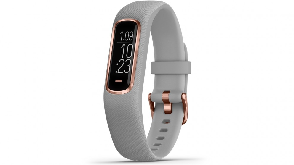 Garmin Vivosmart 4 Small Medium Fitness Tracker Grey Rose Gold