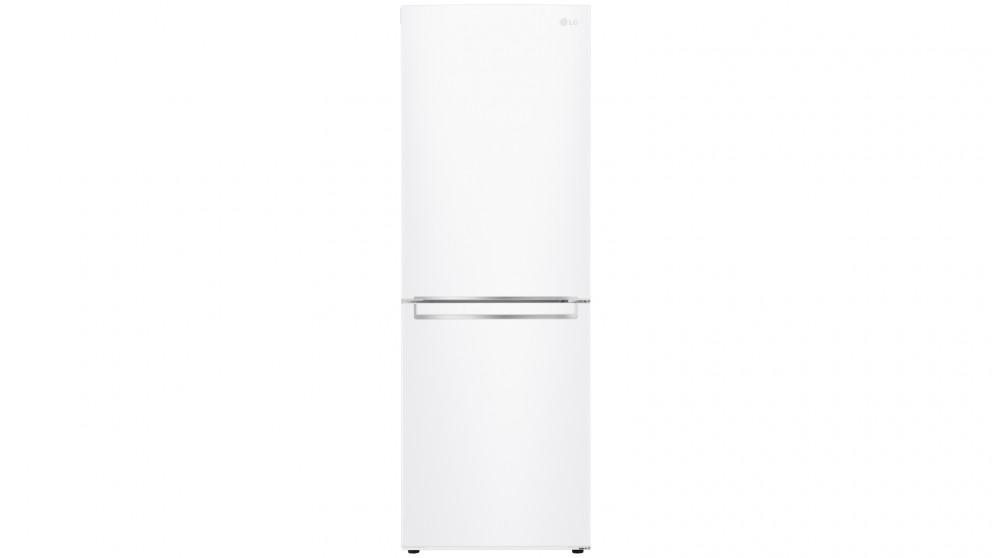 LG 335L Bottom Mount Fridge with Door Cooling - White