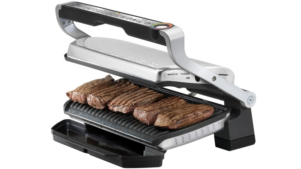 tefal optigrill xl with 9 programs grill grills sandwich presses small kitchen appliances. Black Bedroom Furniture Sets. Home Design Ideas