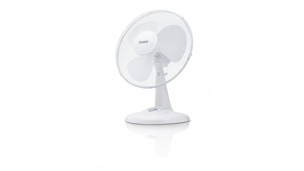 Goldair 30cm Oscillating Desk Fan