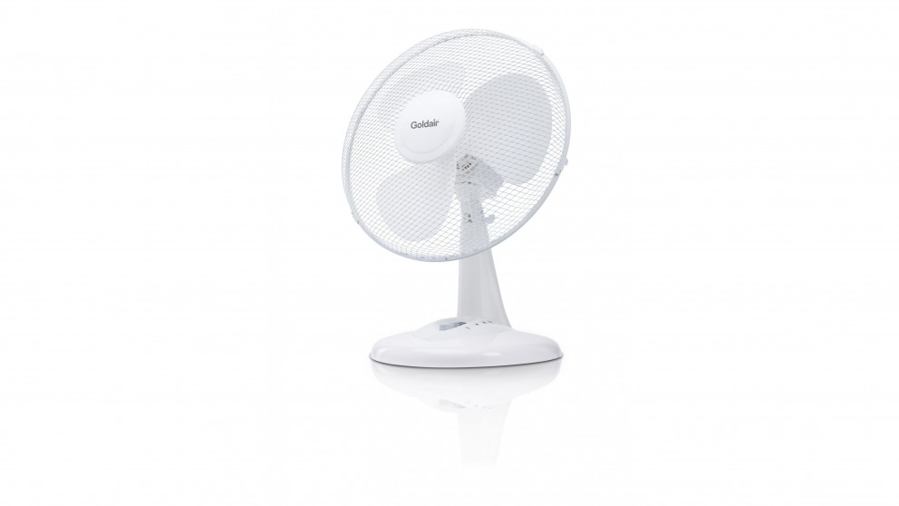 Goldair 30cm Oscillating Desk Fan