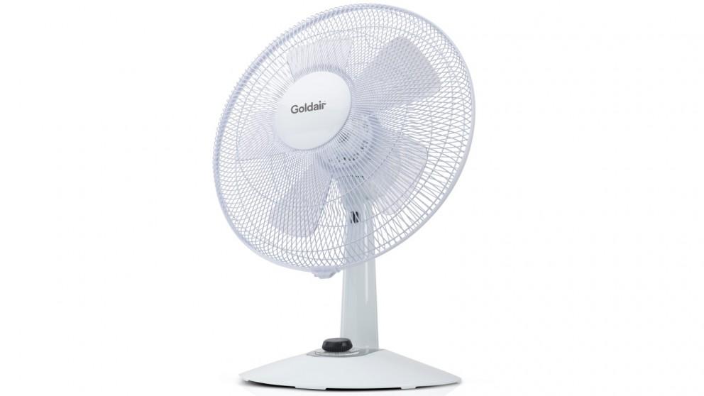 Goldair 30cm Whisper Quiet Desk Fan