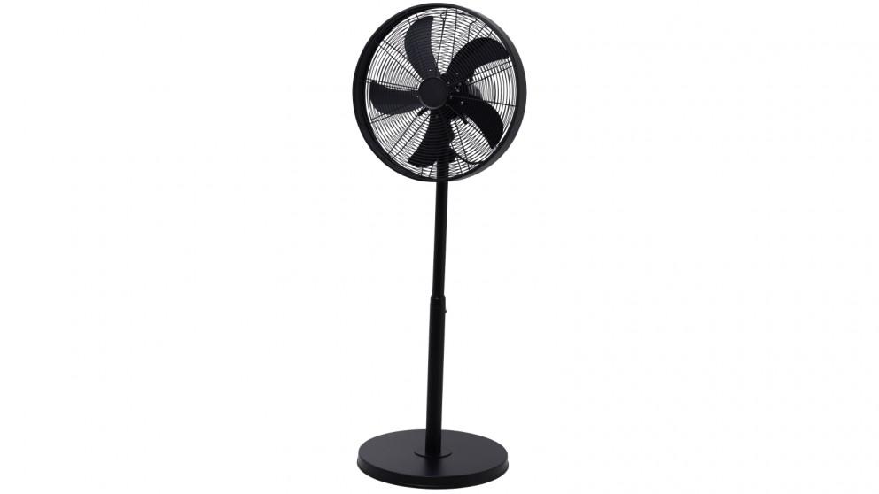 Goldair 40cm Drum Pedestal Fan - Matte Black