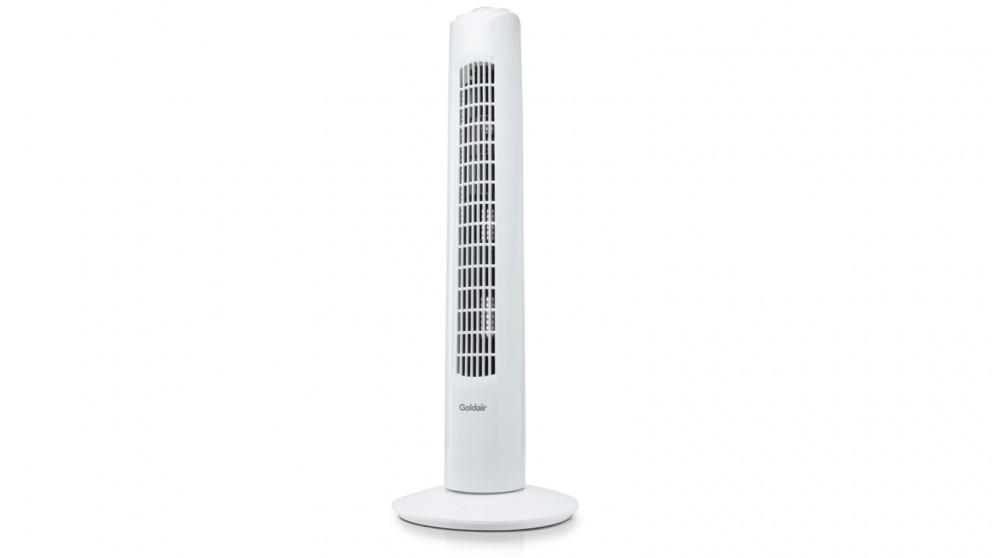 Goldair 81cm Tower Fan - White