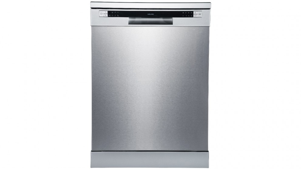 Glem 12 Place Settings Electronic Freestanding Dishwasher - Stainless Steel