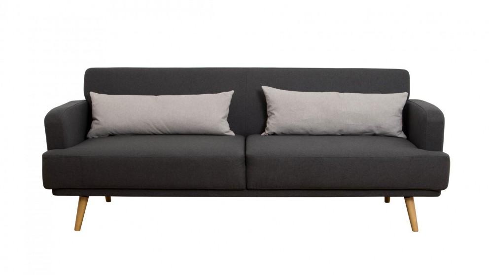 Gemma fabric click clack sofa bed sofa beds living - Harvey norman living room furniture ...