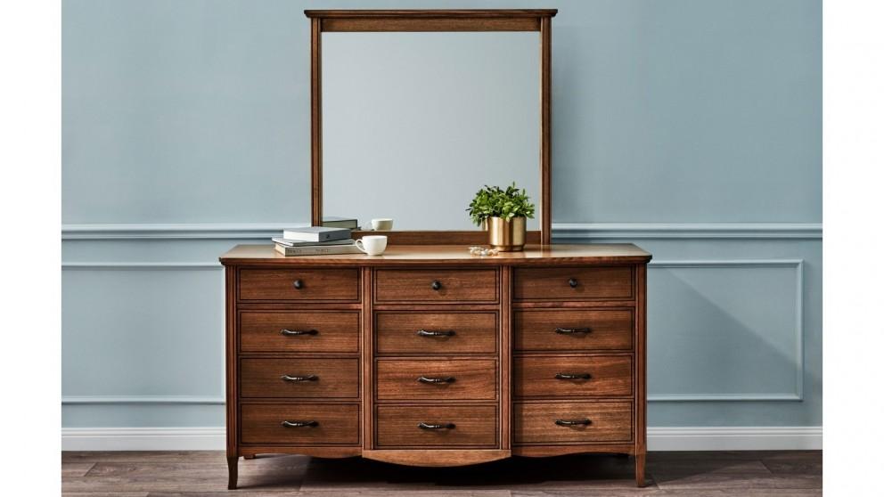 Genevieve Dresser and Mirror