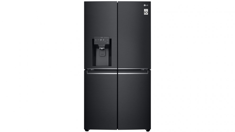 LG 706L French Door Fridge with Slim In-Door Icemaker - Matte Black