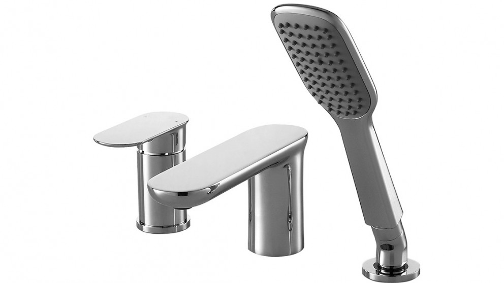 Bravat Gina 3 Hole Bath Set with Hand Shower