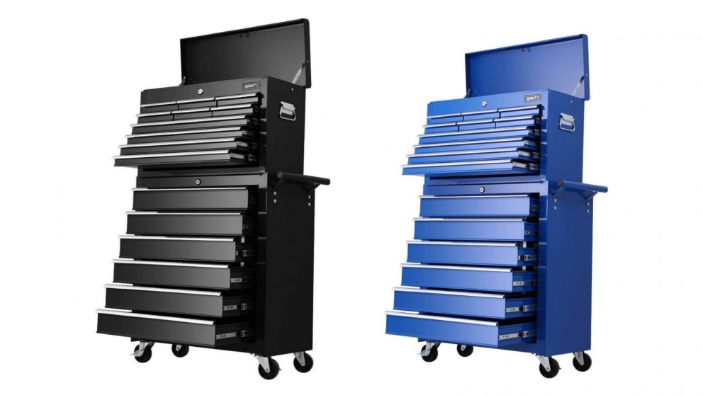 Giantz 16 Drawer Tool Box Storage Trolley