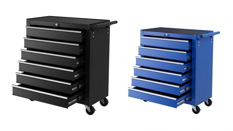 Giantz 6 Drawers Tool Box Cabinet on Roller