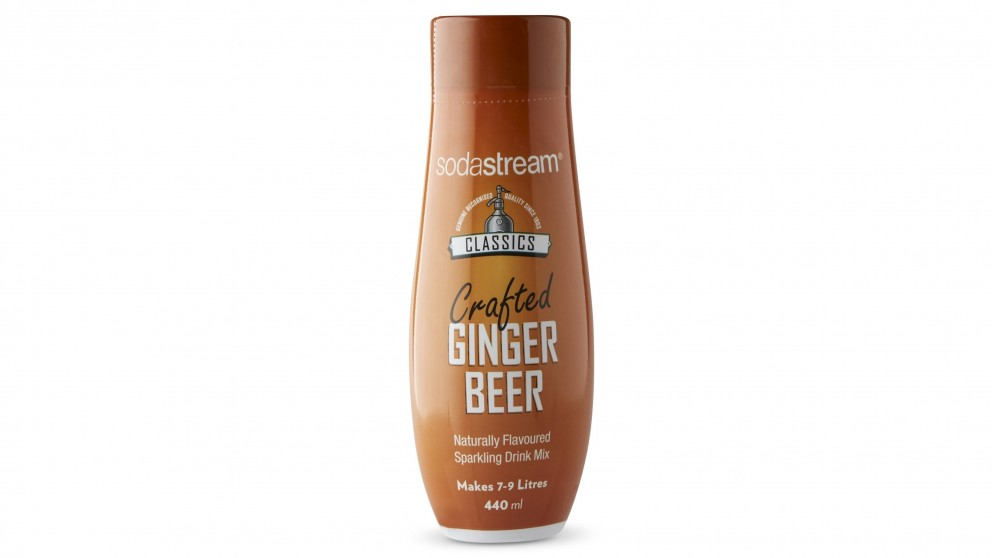 Sodastream Classics Flavour 440ml Ginger Beer Syrup