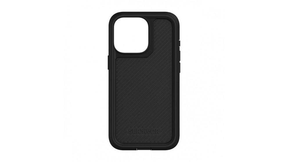 Survivor Earth Case for iPhone 13 Pro - Black