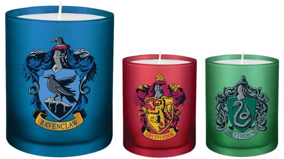 Glass Votive Candle Harry Potter