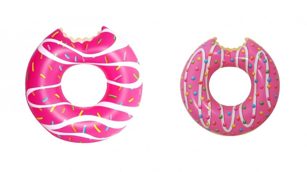 Airtime Pink Glazed Donut Swim Ring
